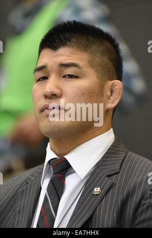 Chiba Port Arena, Chiba, Japan. 8th Nov, 2014. Kosei Inoue, NOVEMBER 8, 2014 - Judo : Kodokan Cup 2014 at Chiba - Stock Photo