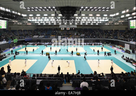 Chiba Port Arena, Chiba, Japan. 8th Nov, 2014. General View, NOVEMBER 8, 2014 - Judo : Kodokan Cup 2014 at Chiba - Stock Photo