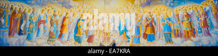 All the saints and archangels. Suitable for painting, murals, wall picture, or for site - Stock Photo