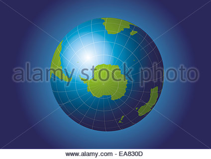 Antarctica and south pole map antarctica australia america stock antarctica and south pole map antarctica australia america africa earth globe gumiabroncs Choice Image