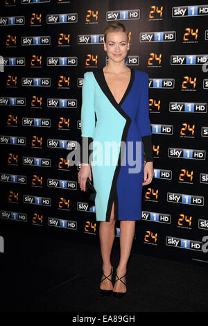 '24 - Live Another Day' UK TV premiere held at Old Billingsgate, London  Featuring: Yvonne Strahovski Where: London, - Stock Photo