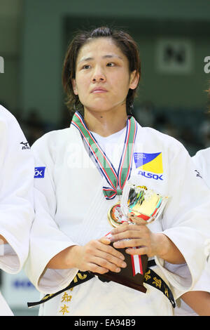 Chiba Port Arena, Chiba, Japan. 8th Nov, 2014. Haruka Tachimoto, NOVEMBER 8, 2014 - Judo : Kodokan Cup 2014 Women's - Stock Photo