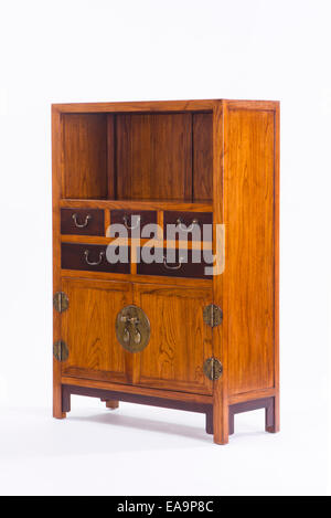 Beau ... Antique Chinese Cabinets   Stock Photo
