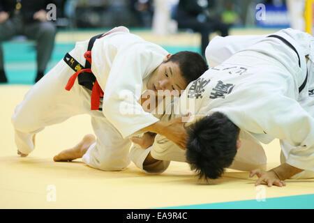 Chiba Port Arena, Chiba, Japan. 8th Nov, 2014. Yuma Oshima, NOVEMBER 8, 2014 - Judo : Kodokan Cup 2014 Men's -60kg - Stock Photo