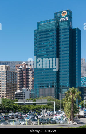 Portside, a 139 m skyscraper in the central business district in Cape Town, South Africa - Stock Photo