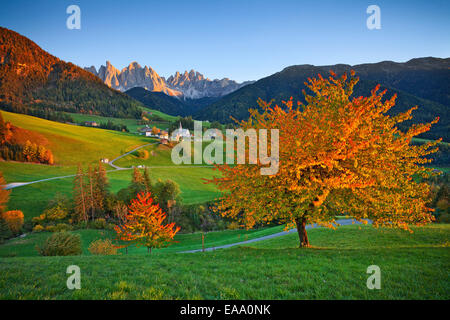 Autumn in  European Alps. - Stock Photo