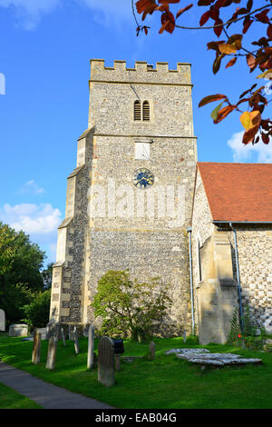 Holy Trinity Parish Church, Church Gate, Cookham, Berkshire, England, United Kingdom - Stock Photo