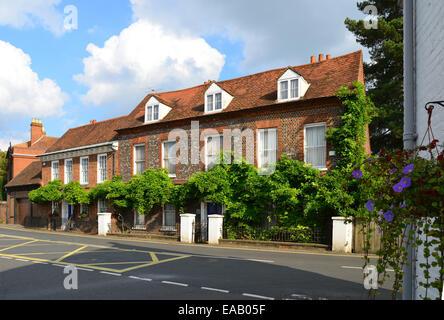 Eastgate cottages, Sutton Road, Cookham, Berkshire, England, United Kingdom - Stock Photo