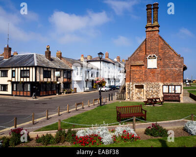The Mill Inn and Moot Hall at Aldeburgh Suffolk England