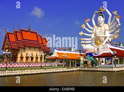 Guayin, chinese Goddess, in Ko Samui, Thailand - Stock Photo