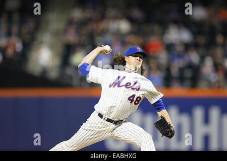 New York Mets starting pitcher Jacob deGrom - Stock Photo