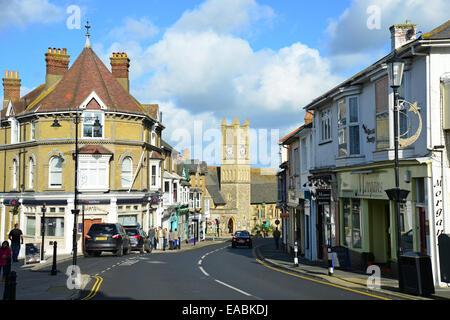 Shanklin Old Village, High Street, Shanklin, Isle of Wight, England, United Kingdom - Stock Photo