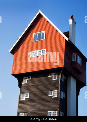 The House in the Clouds Converted Water Tower at Thorpeness near Aldeburgh Suffolk England - Stock Photo