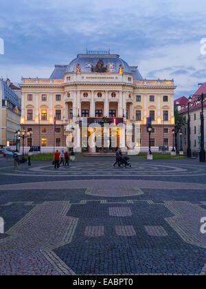 Slovakia Bratislava National Theater - Stock Photo