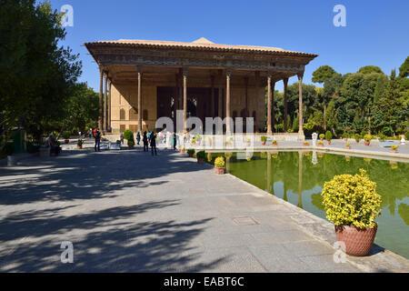 Iran Persia Esfahan UNESCO World Heritage Site Sotoon Palace - Stock Photo