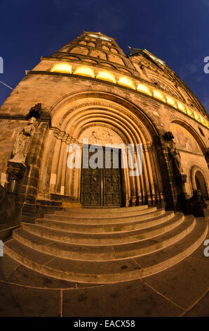 St. Petri Cathedral, Bremen, Germany - Stock Photo