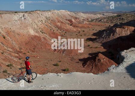 white mesa bike trails stock photo 75274003 alamy