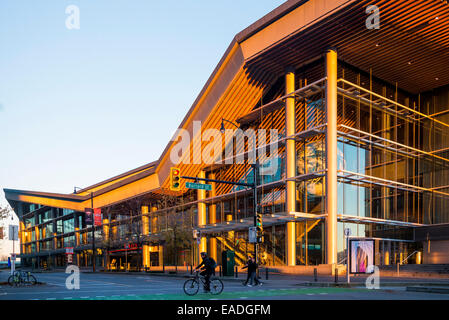 Vancouver Convention Centre West, downtown, Vancouver, British Columbia, Canada - Stock Photo