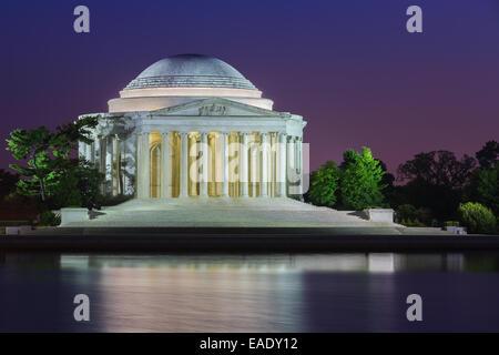 The Thomas Jefferson Memorial is a presidential memorial in Washington, D.C., dedicated to Thomas Jefferson, an - Stock Photo