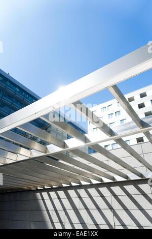 Geschäftsviertel, Danube City, DC, Wien, Österreich, Donaucity - Stock Photo