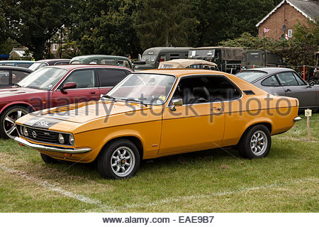 Opel Manta - Stock Photo