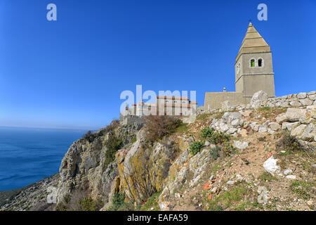 Ancient Fort City Lubenice, Croatia - Stock Photo