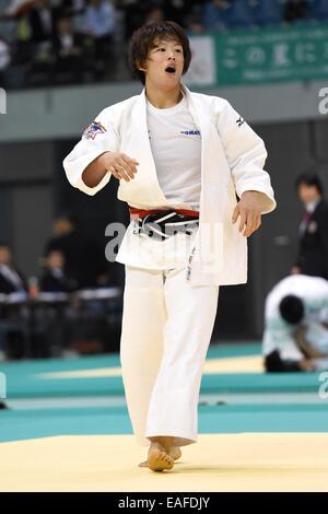 Chiba Port Arena, Chiba, Japan. 8th Nov, 2014. Yoko Ono, NOVEMBER 8, 2014 - Judo : Kodokan Cup 2014 Women's -70kg - Stock Photo