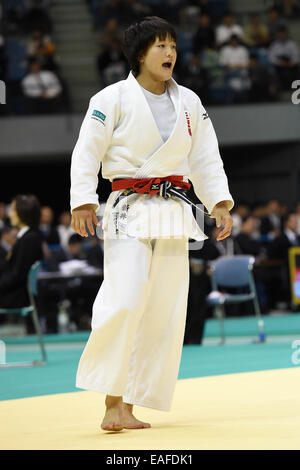 Chiba Port Arena, Chiba, Japan. 8th Nov, 2014. Chizuru Arai, NOVEMBER 8, 2014 - Judo : Kodokan Cup 2014 Women's - Stock Photo