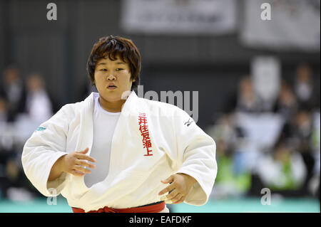 Chiba Port Arena, Chiba, Japan. 8th Nov, 2014. Nami Inamori, NOVEMBER 8, 2014 - Judo : Kodokan Cup 2014 Women's - Stock Photo