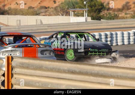 Circuito Cartagena oval races, velocity racing - Stock Photo