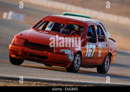 Circuito Cartagena oval races, velocity racing - Stock Photo