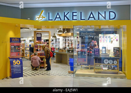 Entrance To Lakeland Kitchenware Stores In Shopping Mall