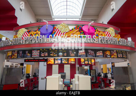 movie theater concession stand - Stock Photo