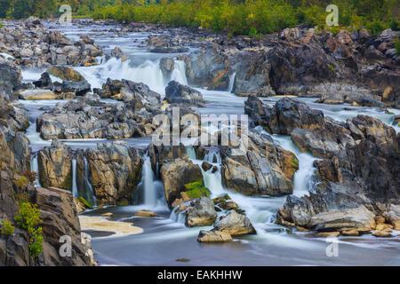 Great Falls Park, Virginia, USA - Stock Photo
