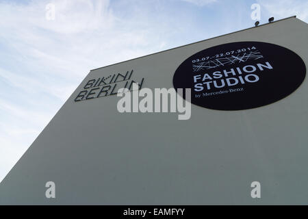 BERLIN - JULY 18, 2014: Bikini-Haus. New shopping center in West Berlin, opened in 2014. - Stock Photo