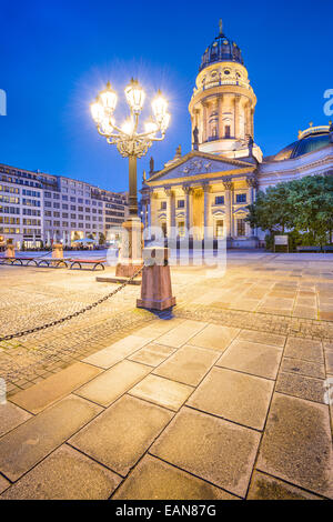 Historic Gendarmenmarkt Square in Berlin, Germany. - Stock Photo