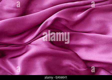 Part of a purple silky garment as a backgorund image - Stock Photo