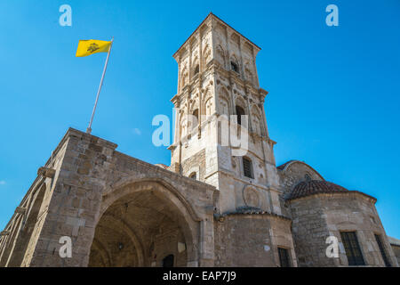 Church of Saint Lazarus - also known as Church of Ayios Lazarus - which is a Greek Orthodox Church in Larnaca, Cyprus. - Stock Photo