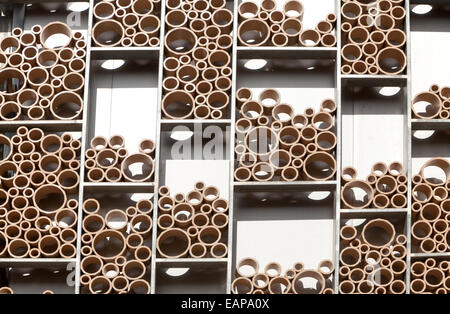 Abstract patterned wall in ceramic tile museum, Centro Ceramica ...