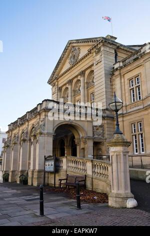 Cheltenham in Gloucestershire England UK  The Town Hall - Stock Photo