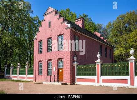 The Dutch House was constructed between 1749 and 1751 in Kuskovo estate, Russia. - Stock Photo