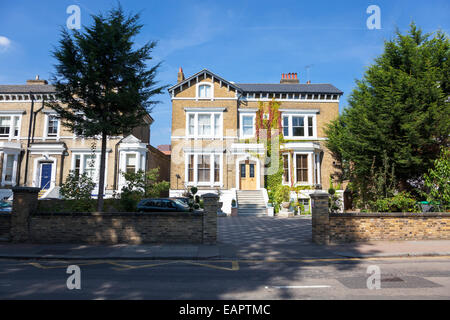 A family house in London suburb - Stock Photo