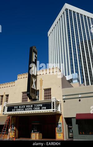 The historix Fox theater in Old Tucson Downtown, Tucson AZ - Stock Photo