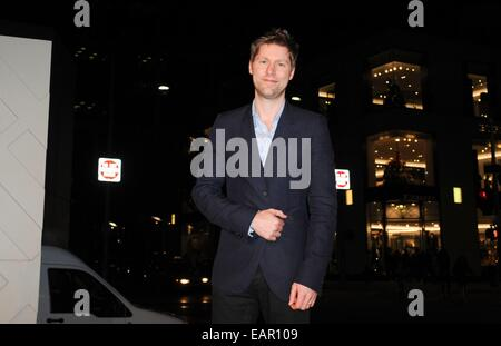 Beverly Hills, CA. 19th Nov, 2014. Christopher Bailey in attendance for Rodeo Drive Walk of Style Award Presentation, - Stock Photo