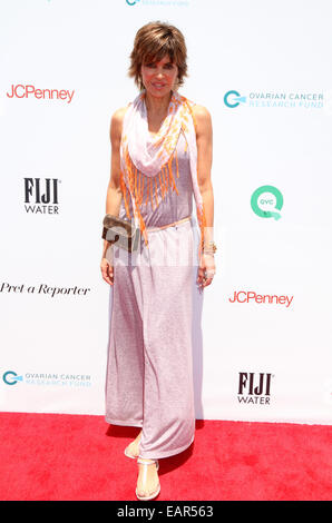 Rachel Zoe And Molly Sims Host Ovarian Cancer Research Fund's Inaugural Super Saturday LA  Featuring: Lisa Rinna - Stock Photo