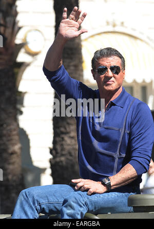 The Expendables 3 Photocall  Featuring: Sylvester Stallone Where: Cannes, France When: 18 May 2014 - Stock Photo