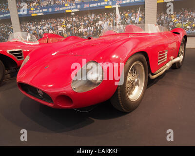 1955 Maserati Sports 300S, 6 cylinders, 2993cm3, 280hp, 280kmh, photo 3 - Stock Photo