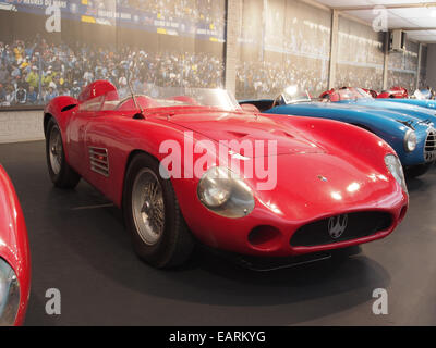 1955 Maserati Sports 300S, 6 cylinders, 2993cm3, 280hp, 280kmh, photo 1 - Stock Photo