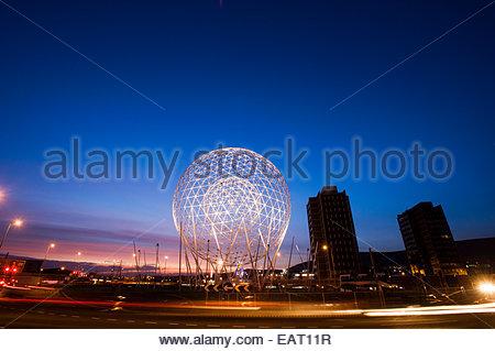 Rise Sculpture in West Belfast, Northern Ireland. - Stock Photo