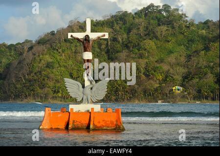 Black Christ of the Waters. Isla Grande, Colon, Republic ...
